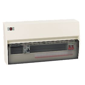WYLEX 17-Way Fully Insulated Split Load Consumer Unit