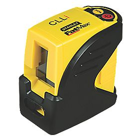 Stanley FatMax CLLI Self-Levelling Cross Line Laser & Mounting Pole Kit