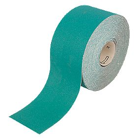 Oakey Liberty Green Sanding Roll 115mm x 50m 80 Grit