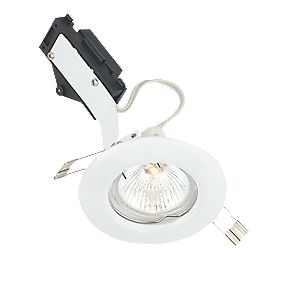 LAP Fixed Round Low Voltage Downlight Gloss White 12V