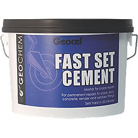 Geocel Fast Set Cement 3kg