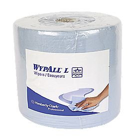 Kimberly-Clark Professional Wypall L30 Wipers Roll Blue