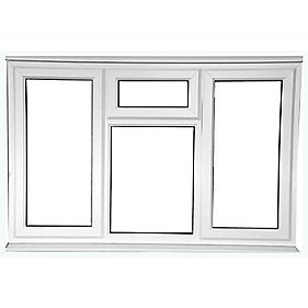 STSF uPVC Window Clear 1780 x 1050mm