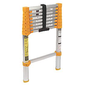 Xtend & Climb Trade Telescopic Ladder 9-Tread 2.6m