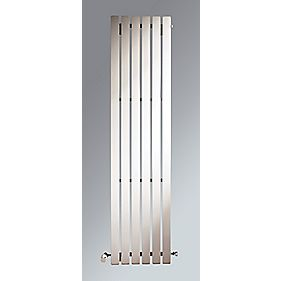 Erupto Square Vertical Designer Radiator White 1800 x 285mm 3286BTU
