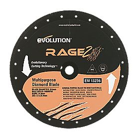 Evolution Rage Diamond Blade 355mm