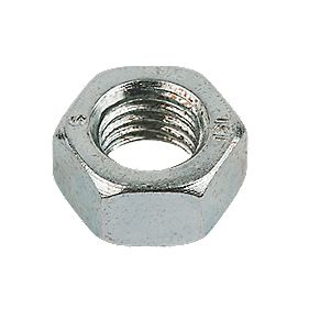 Easyfix Hex Nuts BZP Steel M20 Pack of 50