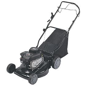40cm 3hp Self-Propelled Rotary Petrol Lawn Mower w.Briggs & Stratton Engine