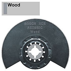 Bosch HCS Segment Saw Blade Wood with Depressed Centre 85mm