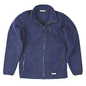 "Work-It Sherpa Jacket Navy X Large 48-50"" Chest"