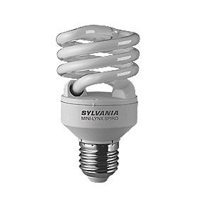 Sylvania Spiral Compact Fluorescent Lamp ES 1250Lm 20W