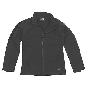 "Dickies Foxton Ladies Jacket Black Large 44-46"" Chest"