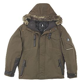 MASCOT TONDELA JACKET DARK OLIVE LARGE