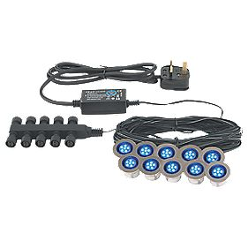 Apollo 45mm LED Deck Light Kit Blue