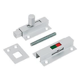 Jedo Bathroom Indicator Bolt Aluminium