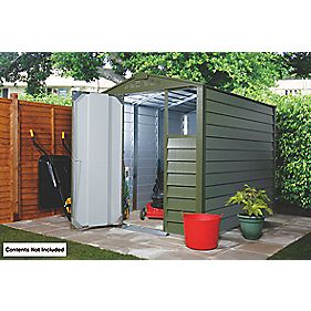 Trimetals Titan 640 Apex Shed Metal 1860mm x 1410mm x 2140mm