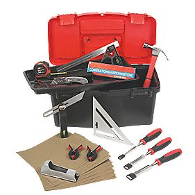 Forge Steel Carpenters Tool Kit 16Pcs