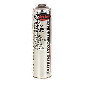 Butane Propane Mixed Gas Cartridge 350g