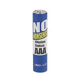 No Nonsense Rechargeable Batteries AAA 700mAh Pack of 4