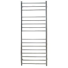 Reina Luna Flat Ladder Towel Radiator S/Steel 1200 x 500mm 630W 2147Btu