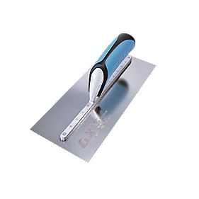 "Ox Pro Stainless Steel Plasterers Trowel 4¾"" x 14"" (120 x 356mm)"