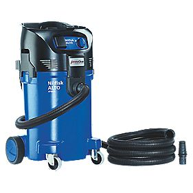 Nilfisk Attix 50-21XC 1100W 50Ltr Wet/Dry Vac Cleaner & Dust Extractor 110V