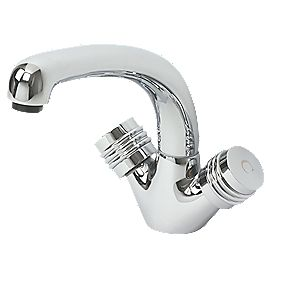 Swirl Magellan Mono Mixer Kitchen Tap Chrome