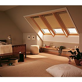 Velux Roof Window Blackout Blind Beige 623 x mm