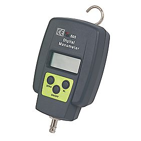 TPI 608 Single Input Manometer