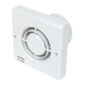 Manrose LW100S 10.77W LoWatt Axial Bathroom Extractor Fan