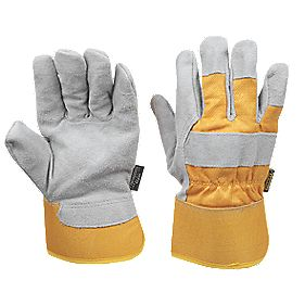 Stanley Thermal Winter Rigger Gloves Grey Large