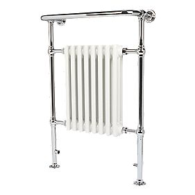 Reina Victorian 8-Section Designer Radiator White 960 x 675mm