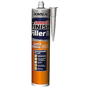 Ronseal Super Flexible Ready-Mixed Wall Filler White 310ml