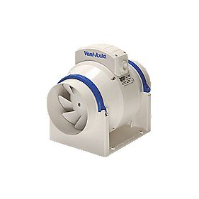 Vent-Axia ACM100 W In-Line Bathroom Extractor Fan