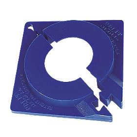 Split Klick Top Hat Washers Pack of 10