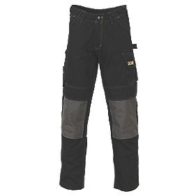 "JCB Cheadle Work Trousers Black 42"" W 32"" L"
