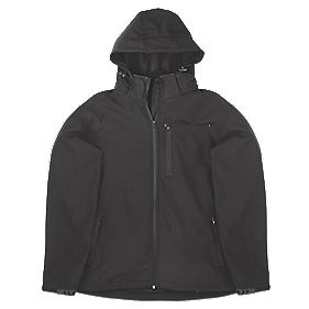 "Site Willow Softshell Jacket Black X Large 46-48"" Chest"
