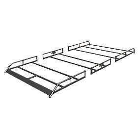 Rhino R521 Modular High Roof Rack Sprinter/Crafter