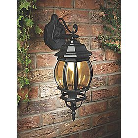 Cambridge Hanging Wall Light Matt Black IP23