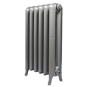 Cast Iron Princess 810 Designer Radiator Gun Metal Grey H: 810 x W: 665mm