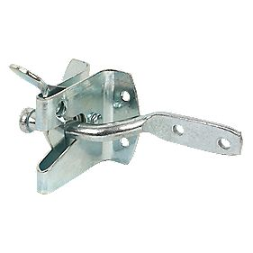 Auto Garden Gate Latch Zinc-Plated 50mm