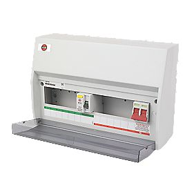 WYLEX 12-Way Fully Insulated Split Load Consumer Unit