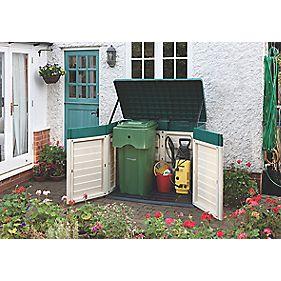 Rowlinson Garden Products Plastic Garden Store 1.44 x 0.83 x 1.19m Nominal