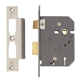 "Yale 5-Lever Mortice Sashlock Polished Chrome 3"" / 76mm"