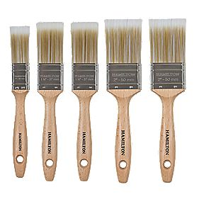 Hamilton Prestige Synthetic Trade Paintbrush 5 Piece Set