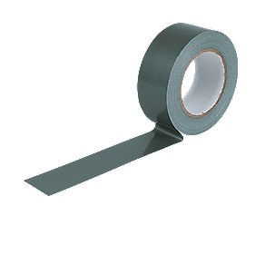 No Nonsense Cloth Tape 27 mm Mesh Silver 48mm x 50m