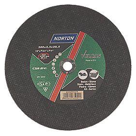 Norton Vulcan Stone Cutting Disc 300 x 3.5 x 20mm Bore Pack of 3