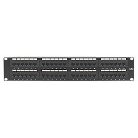 "Philex 2U 19"" UTP Cat 5E 48-Port Patch Panel"
