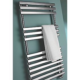 Kudox Calandra Designer Towel Radiator Chrome 500 x 1150mm 307W 1286Btu