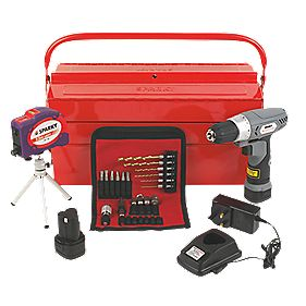 Sparky BR2 10.8LI HD 10.8V 1.3Ah Li-Ion Cordless Drill Driver with 25Pc Kit